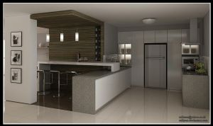Kitchen, Bradel Residential by RullyArt