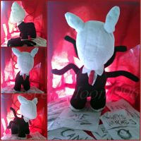 Nightmare Night Contest Entry: Slendermane Plush by CrescentMoon96