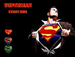 Superman Start Orb by andyNroses