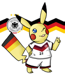 Pika Pika Germany! by Sixala