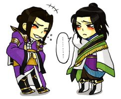 Zhuge Liang and Sima Yi 2 by tekoyo