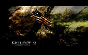 Fallout 3 Wallpaper by UniversalDiablo