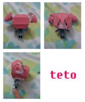 teto vocaloid papercraft by chowitsu