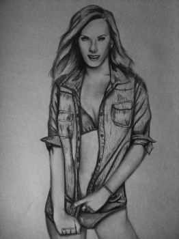 Heather Morris by insomatic-studios