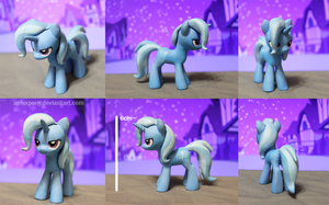 Mini great and powerful Trixie by AplexPony
