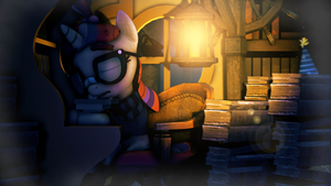 Books can't hug by SourceRabbit