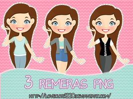 Remeras Png by IloveCute1220