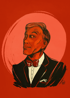 Christoph Waltz by monkette