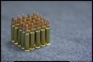 All The Bullets, All Lined up by JBail