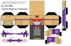 Blitzwing Cubee by Tim1995