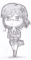 Chibi Naho by DeliciousCreamPuffs