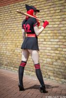 Dc Bombshells Batwoman LFCC by GagaAlienQueen