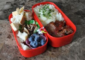 Comfort Foods Bento by Demi-Plum