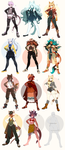 Anthro Flatsale Batch (Open!) by faios