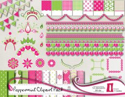 Peppermint Clipart Pack by naga-pree