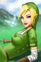 Lady Link by jaleh