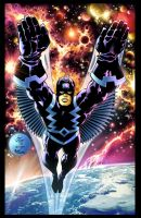 Jack Kirby's Black Bolt by VicenteT