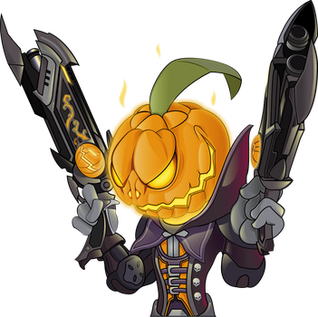 Reaper Halloween from OVERWATCH by HaruInkisitor
