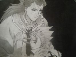 Hitsugaya and Hyorinmaru by teen-titans-fan-01