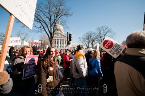 Madison, WI Protests 4 by cyspence