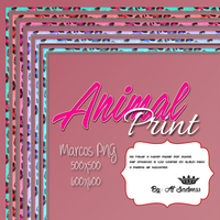 Marcos-Animal Print-PNG. by BySadnessAl
