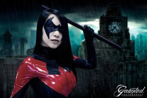 Nightwing Cosplay - VampyBitMe - NYCC by Gaunted