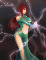 Mekania - lightning charge by Laenri