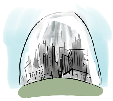 Domed City by aphilliard