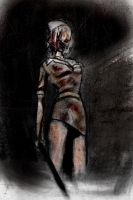 Silent Hill Nurse by furiouskitten