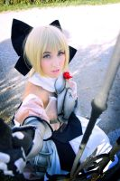 Saber Lily Cosplay (Armor) II. by PinkFluffyKitchicorn