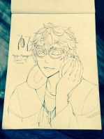 707 (Mystic Messenger) by tsukihime-93