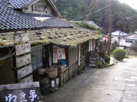 old shop, Asuka-mura, Nara by Waterdroplet-s