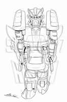Valhammer - Linework by Sidian07