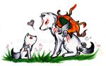 Okami - Like Mother, Like Son by Chibidoodles