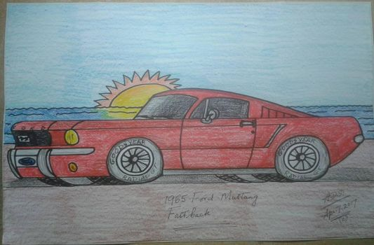 Ford Mustang fastback 1965 by adrian154