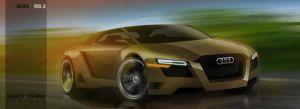 Audi RS 2 Concept Render 2010 by ShadyDesigns