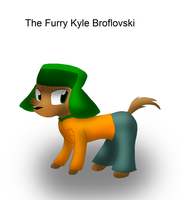 The Furry Kyle Broflovski by KelseyEdward