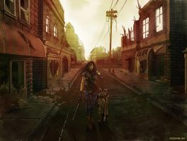 Indian Summer on HarvestStreet by ghostfire