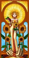 Tarot of the Sun by Ossian-art