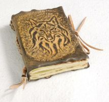 Small Wolf Journal by gildbookbinders