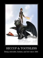 HICCUP AND TOOTHLESS #1 by Grievous-fangirl