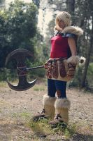 Astrid - How To Train Your Dragon 2 by CrystalPanda