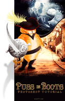Puss in Boots poster by T3hSpoon