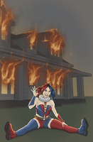 Harley Quinn + Matches by Orr-Malus
