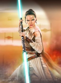 The Force Awakens by cylonka