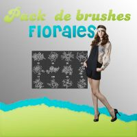 +Brushes Florales+descarga by BrightLightsOff