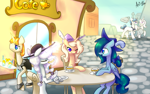 Tea party by Atrixy