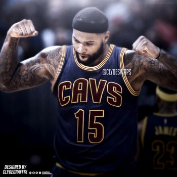 DeMarcus Cousins to the Cavaliers | Jersey Swap by ClydeGraffix