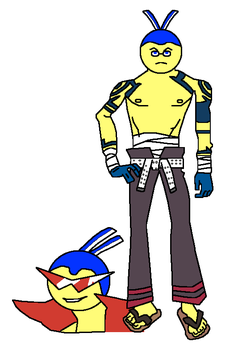 Blue as Kamina by Gregster101