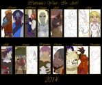 2014 Summary of Art by Embrace-Diversity